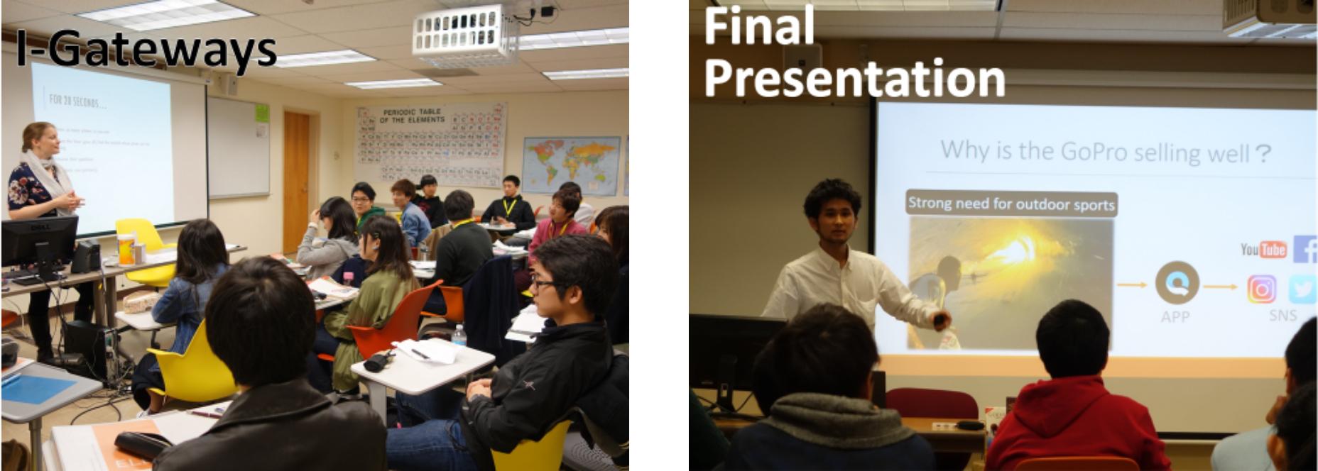 英語クラスの研修風景